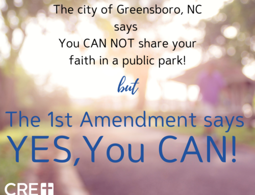 Impermissible Permission Requirement: Greensboro Forces Evangelist to Get Permission to Speak in Public Park