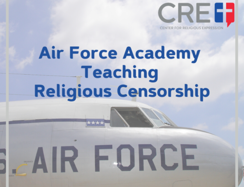 Air Force Academy Teaching Religious Censorship