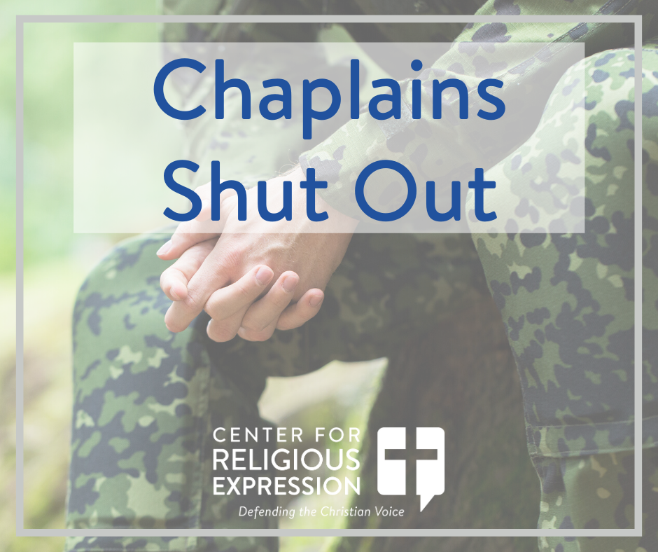 Chaplains Shut Out - www.crelaw.org