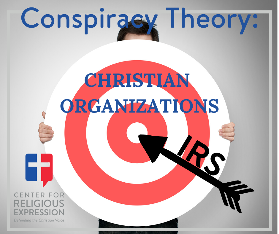 Christian and politically conservative groups seeking tax-exempt status have been targeted for discrimination by IRS. www.crelaw.org