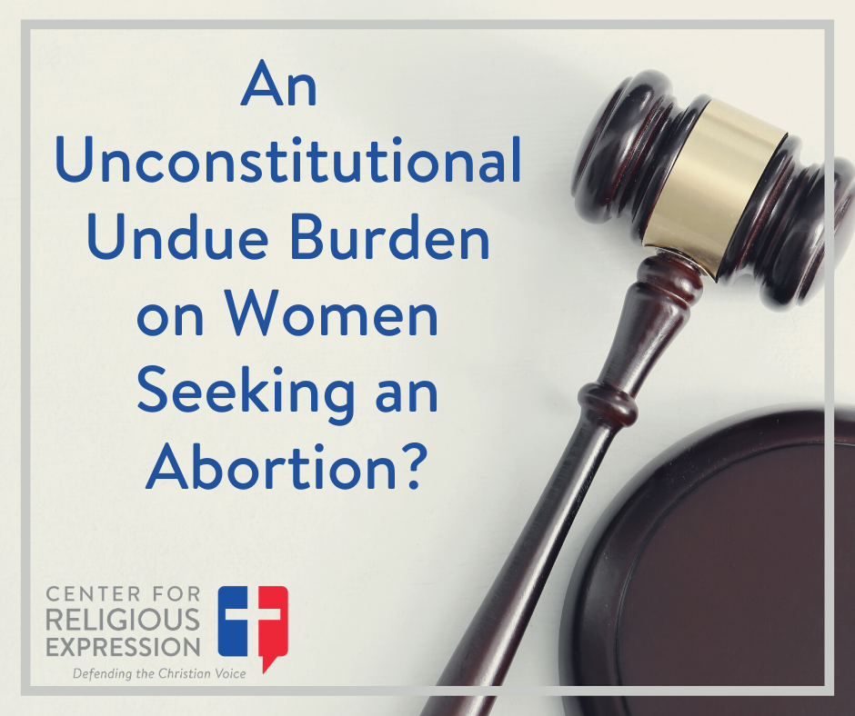 A panel sitting for the U.S. Court of Appeals for the Fifth Circuit struck down by a 2 to 1 margin a 2012 MS law as an undue burden on a woman's right to abortion. www.crelaw.org