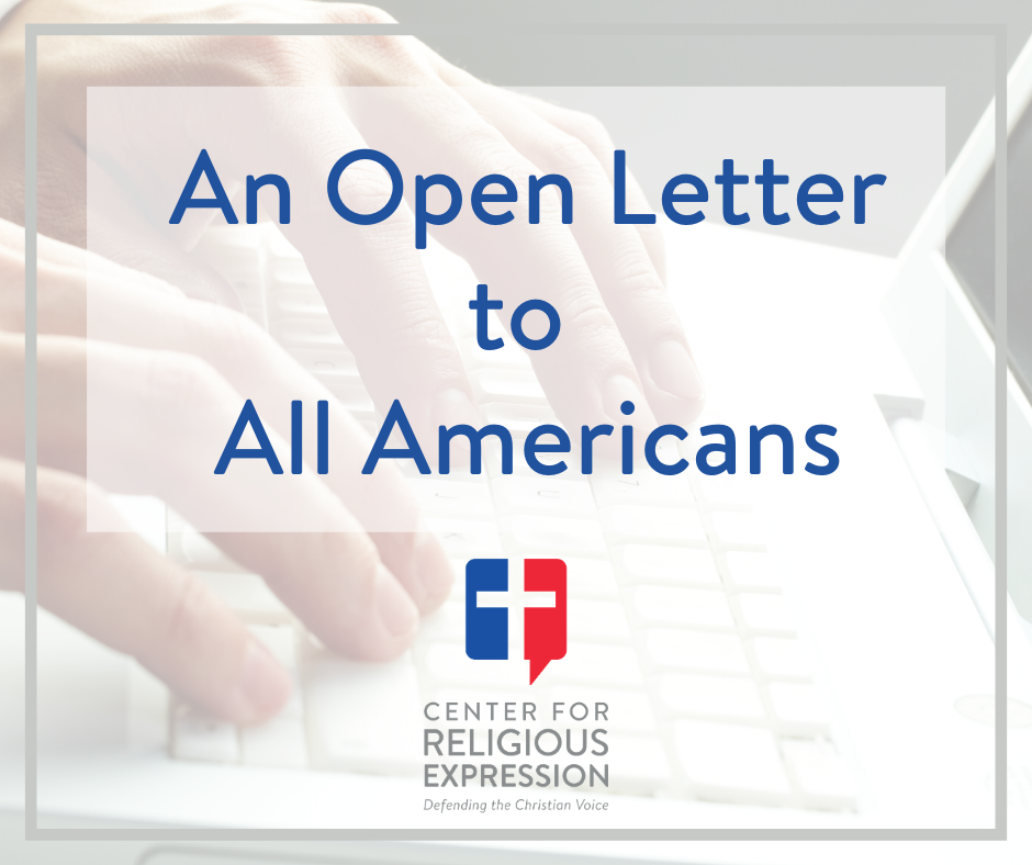 "An open letter to all Americans from religious leaders of various faiths on the dangers of the ""preventive services"" through the Affordable Care Act,"