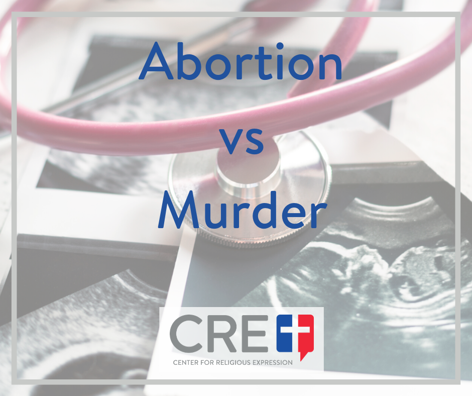 There is a fine and tenuous line that our culture maintains between legalized abortion and criminalized murder, and it gets thinner by the day. www.crelaw.org