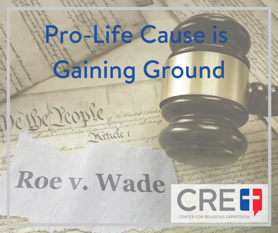 The pro-life cause is gaining ground because the truth about abortion is coming out, hopefully soon setting us free from the evil of legalized abortion.