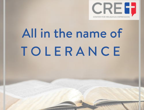 In the Name of Tolerance