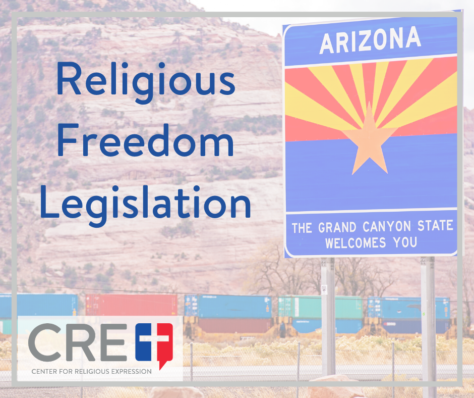 Last week the Arizona Senate and House both passed landmark legislation protecting the religious freedom of small business owners. www.crelaw.org