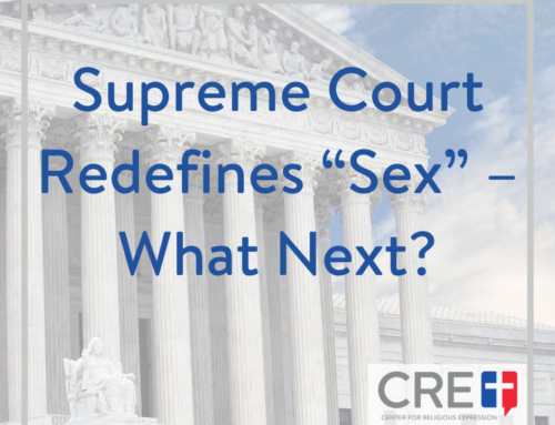 "Supreme Court Redefines ""Sex"" – What Next?"