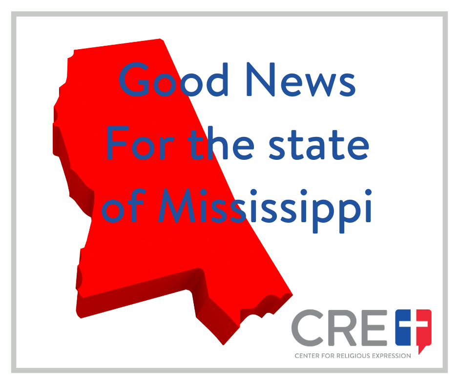 Recognizing that children enjoy the same constitutional liberties as their parents, the state of MS passed the Mississippi Student Religious Liberties Act.