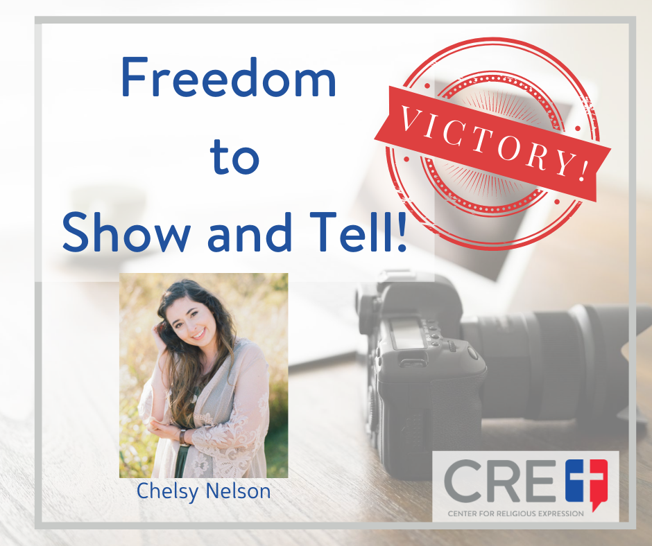 Freedom to Show and Tell. www.crelaw.org