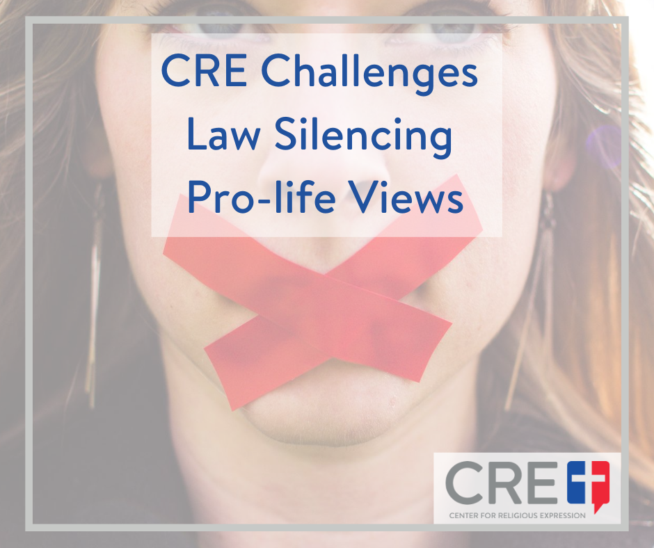 Charlotte NC passed an ordinance making it a crime to use amplification – regardless of volume – within 150 feet of abortion clinics. www.crelaw.org