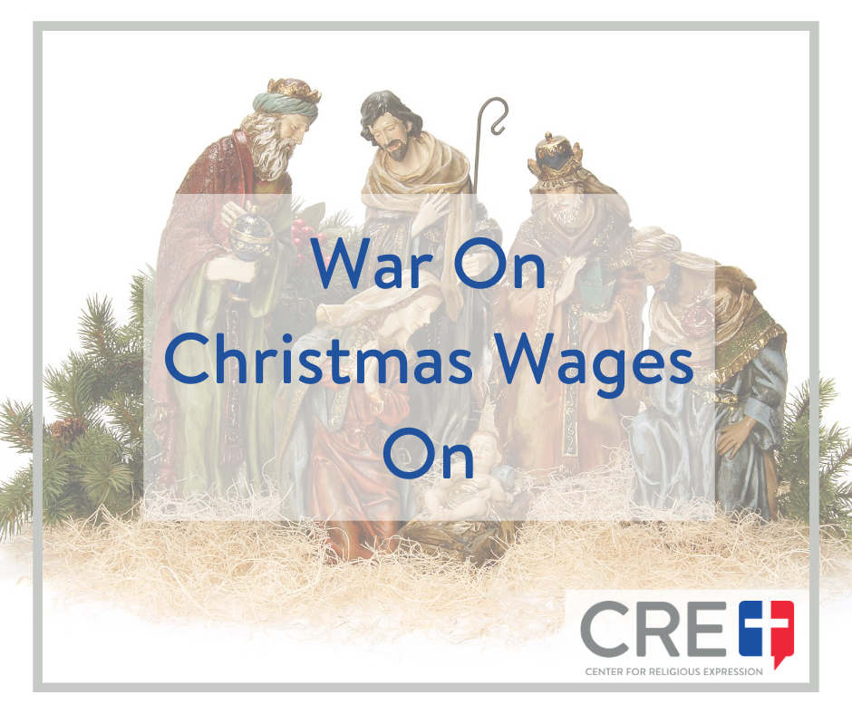 War On Christmas Wages On. www.crelaw.org