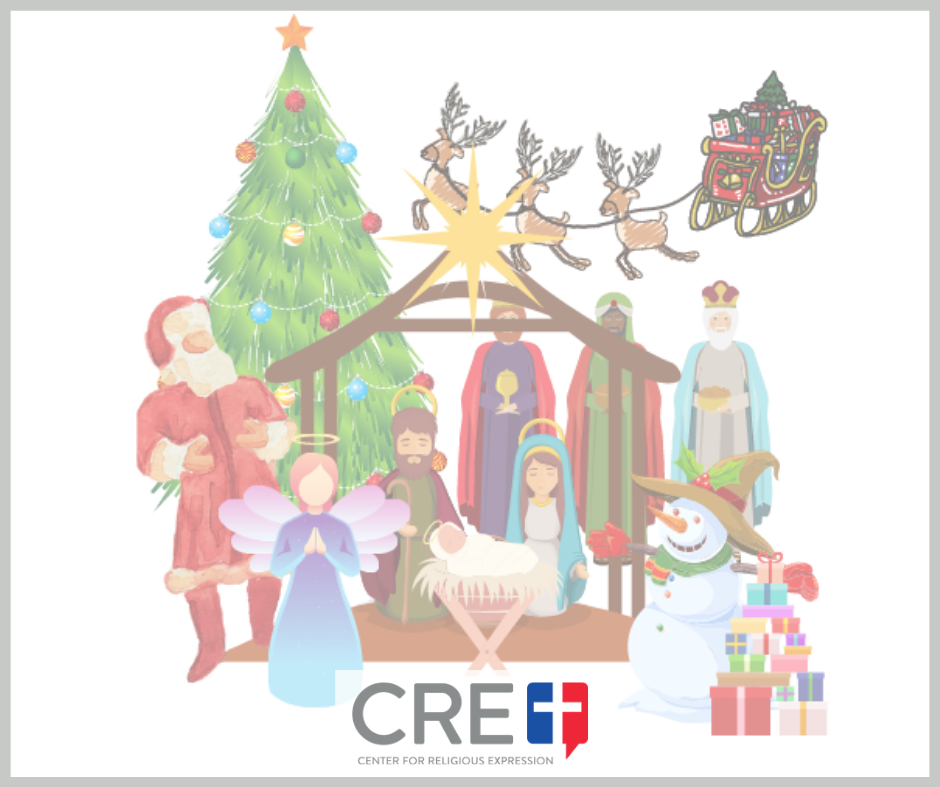 No one, not the ACLU, Freedom From Religion Foundation, or the government itself, can take Christ out of Christmas. www.crelaw.org