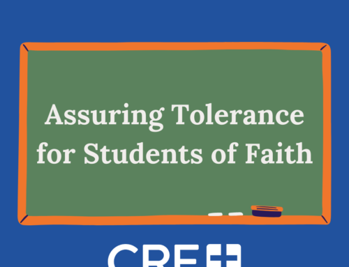 Assuring Tolerance for Students of Faith