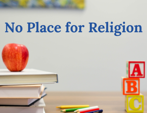 No Place for Religion