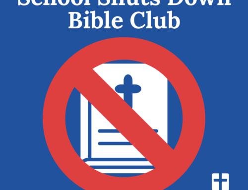 School Shuts Down Bible Club