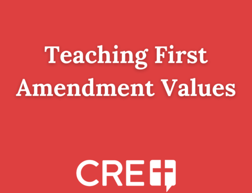 Teaching First Amendment Values
