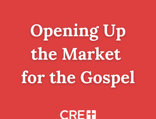 Opening the Market for the Gospel