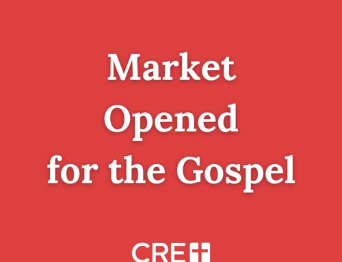 Market Opened for the Gospel
